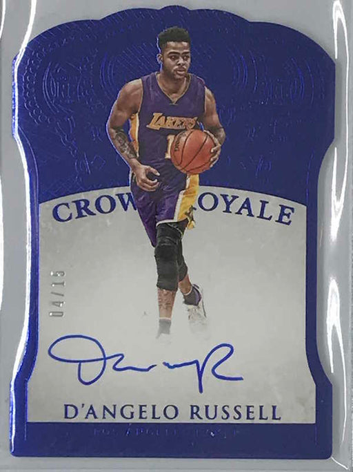 15-16 Preferred D'ANGELO RUSSELL Crown Royale Auto RC 4/15-Cherry Collectables