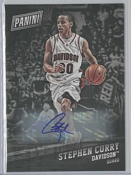 17-18 Black Friday STEPH CURRY Auto-Cherry Collectables