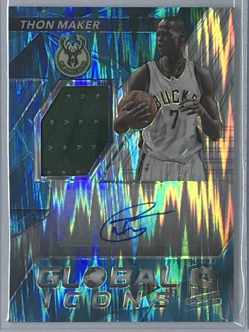 16-17 Spectra THON MAKER Global Icons Auto Jsy RC 4/99-Cherry Collectables