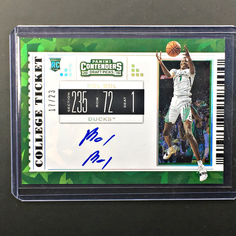 2019 Contenders Draft Picks BOL BOL College Ticket Auto 17/23-Cherry Collectables