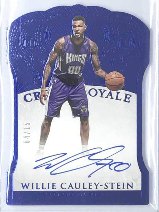 15-16 Preferred WILLIE CAULEY-STEIN Crown Royale Auto RC 4/15-Cherry Collectables