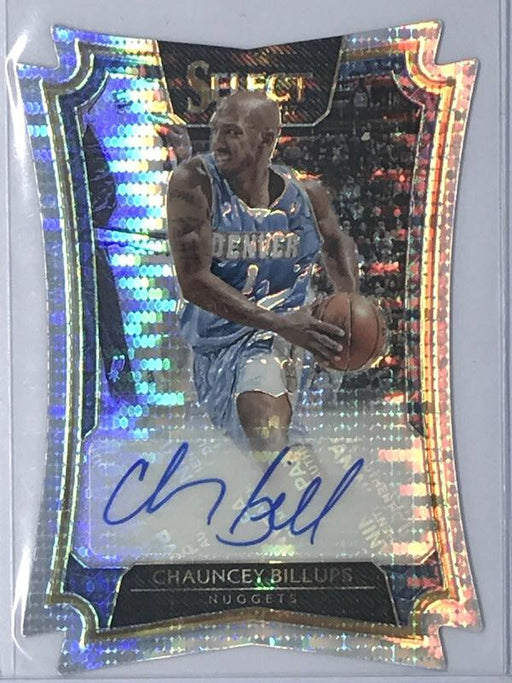 16-17 Select CHAUNCEY BILLUPS Auto 8/49-Cherry Collectables