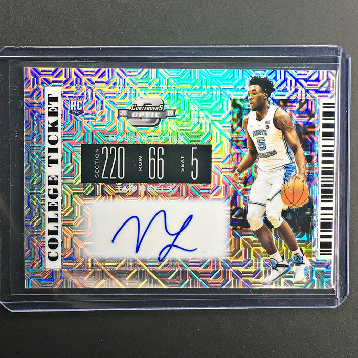 2019 Contenders Draft Picks NASSIR LITTLE College Ticket Auto 11/15 Hyper-Cherry Collectables
