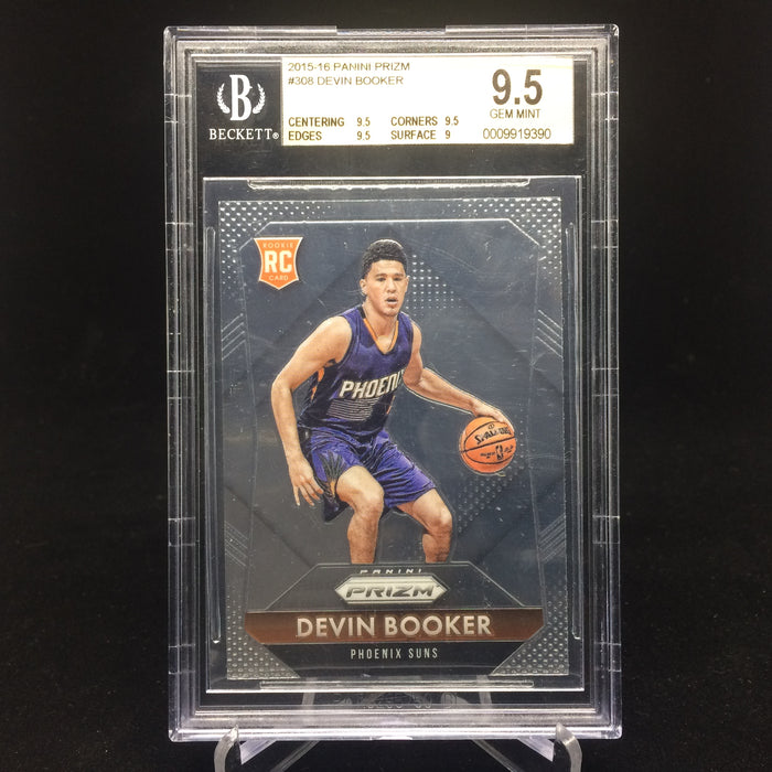 15-16 Prizm DEVIN BOOKER RC #308 BGS 9.5-Cherry Collectables