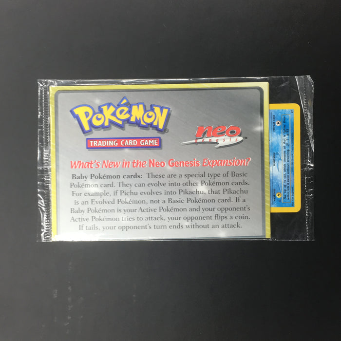 Pokemon Sealed Marill WotC Black Star Promo 29-Cherry Collectables
