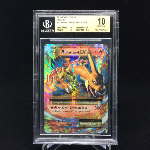 Mega Charizard EX Evolutions BGS 10 PRISTINE-Cherry Collectables