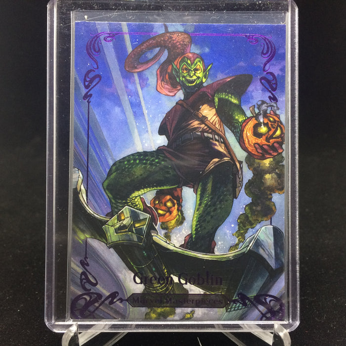 2018 Marvel Masterpieces GREEN GOBLIN #70 Tier 3 Purple /199-Cherry Collectables