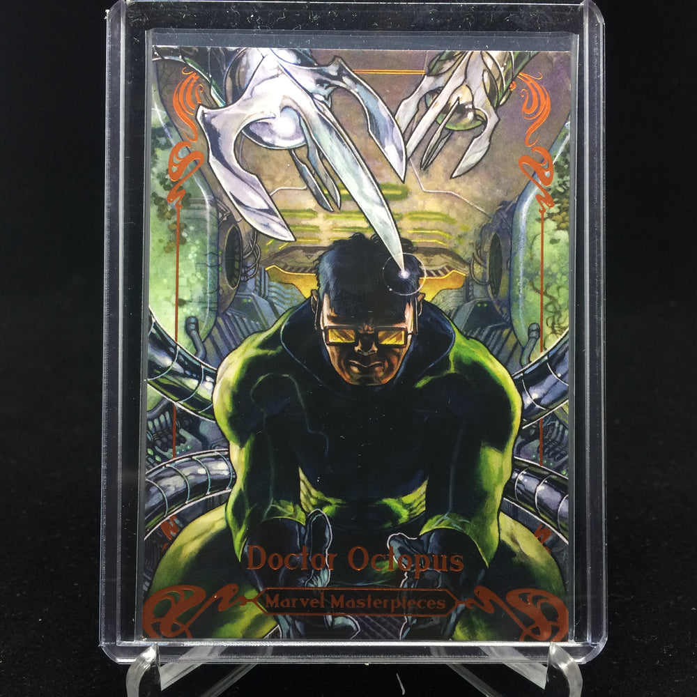 2018 Marvel Masterpieces DOCTOR OCTOPUS #69 Tier 3 Orange /99-Cherry Collectables