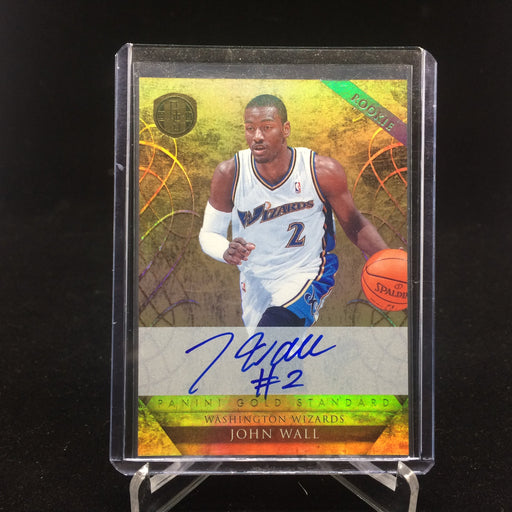 10-11 Gold Standard JOHN WALL RC Auto /299-Cherry Collectables