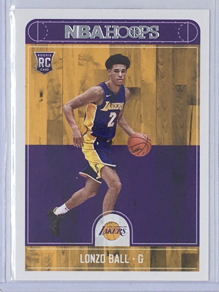 17-18 NBA Hoops LONZO BALL No.252 RC-Cherry Collectables