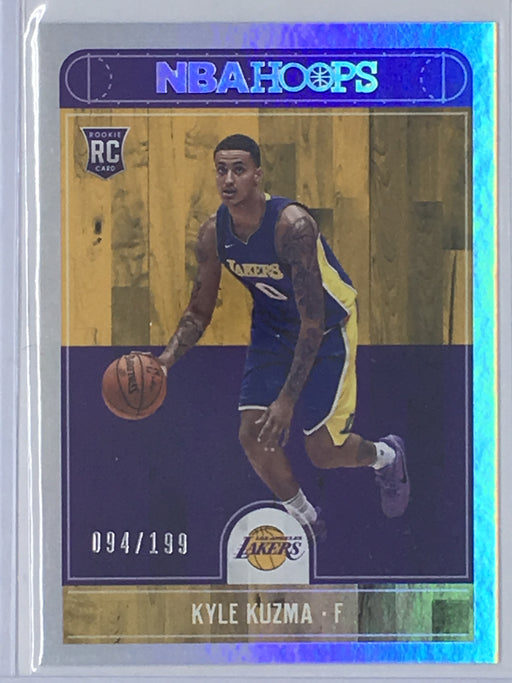 17-18 NBA Hoops KYLE KUZMA Silver RC No. 277 Variant 94/199-Cherry Collectables