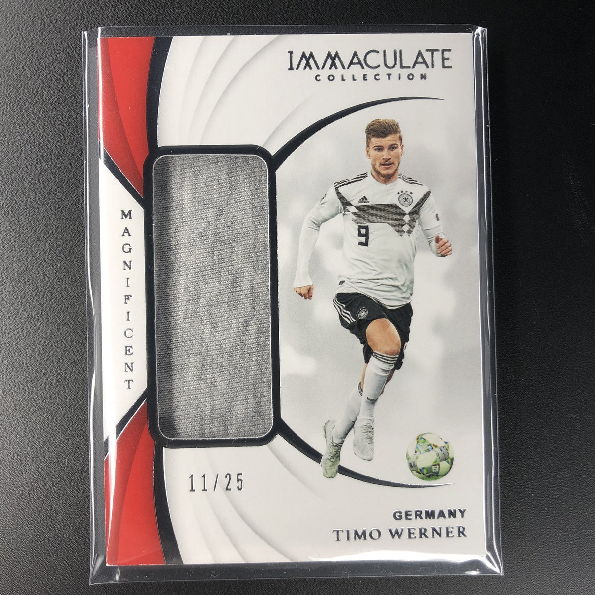 the latest 20bca 24bc5 2018-19 Immaculate TIMO WERNER Magnificent Jersey 11/25