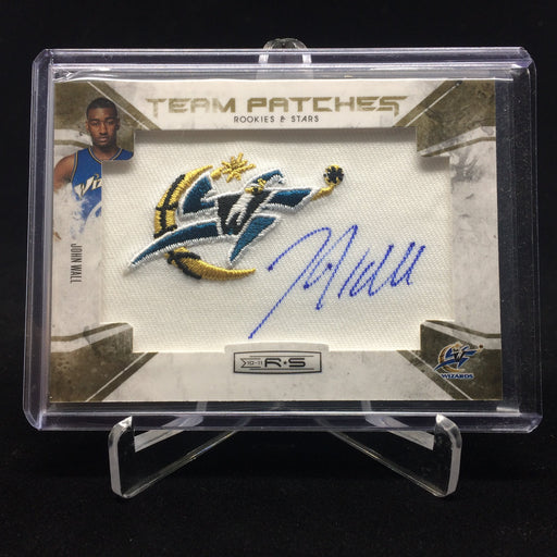 10-11 Rookies & Stars JOHN WALL RC Auto Patch 7/25-Cherry Collectables