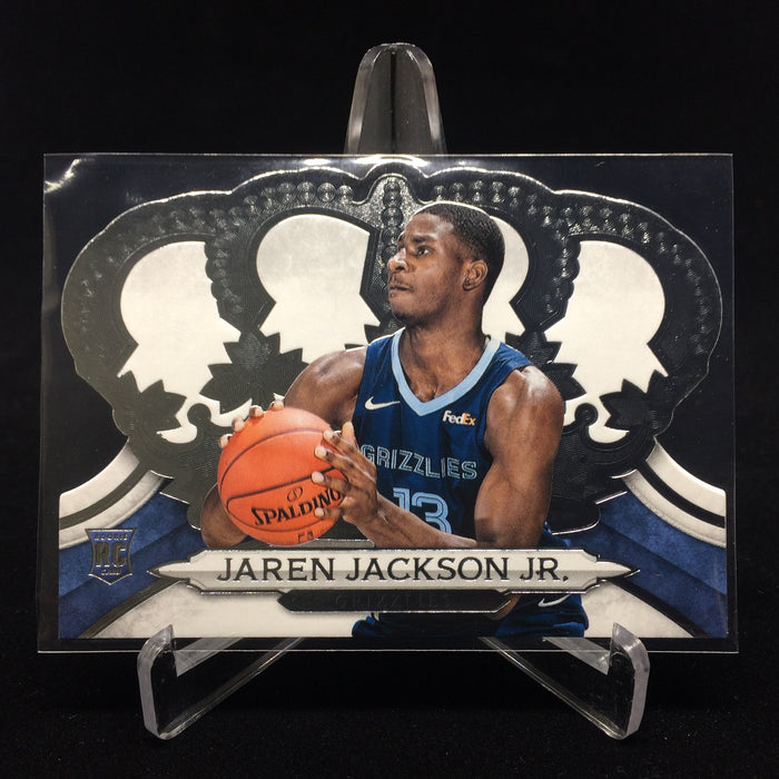 18-19 Crown Royale JAREN JACKSON JR. RC #163-Cherry Collectables