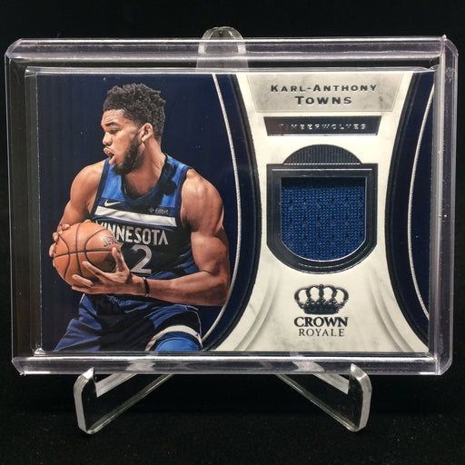 18-19 Crown Royale KARL-ANTHONY TOWNS Jsy #J-KAT-Cherry Collectables
