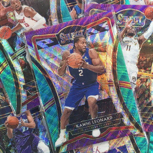 2019-20 Select ZACH NORVELL JR. Tri Color Prizm #9-Cherry Collectables