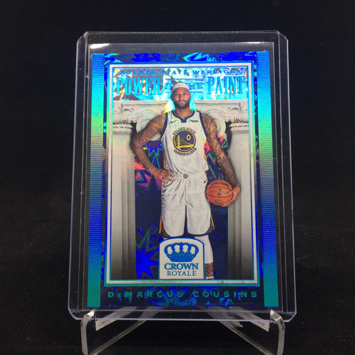 18-19 Crown Royale DEMARCUS COUSINS Power In The Paint-Cherry Collectables