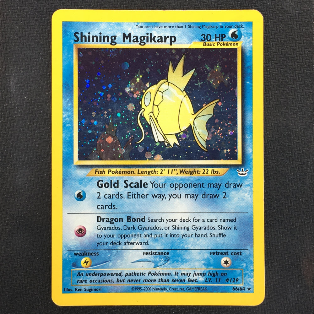 Shining Magikarp - 66/64 - Holo - Neo Revelations Unlimited (P)-Cherry Collectables