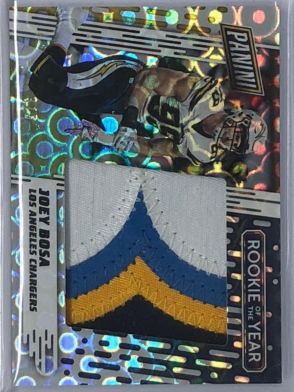 2017 Panini Day JOEY BOSA Groove Prizm Rookie Of The Year Patch No. ROY2 Chargers 3/5-Cherry Collectables