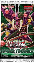 YU-GI-OH! TCG Invasion Vengeance Pack - Cherry Collectables