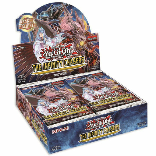Yu-Gi-Oh! TCG The Infinity Chasers Booster Box-Cherry Collectables