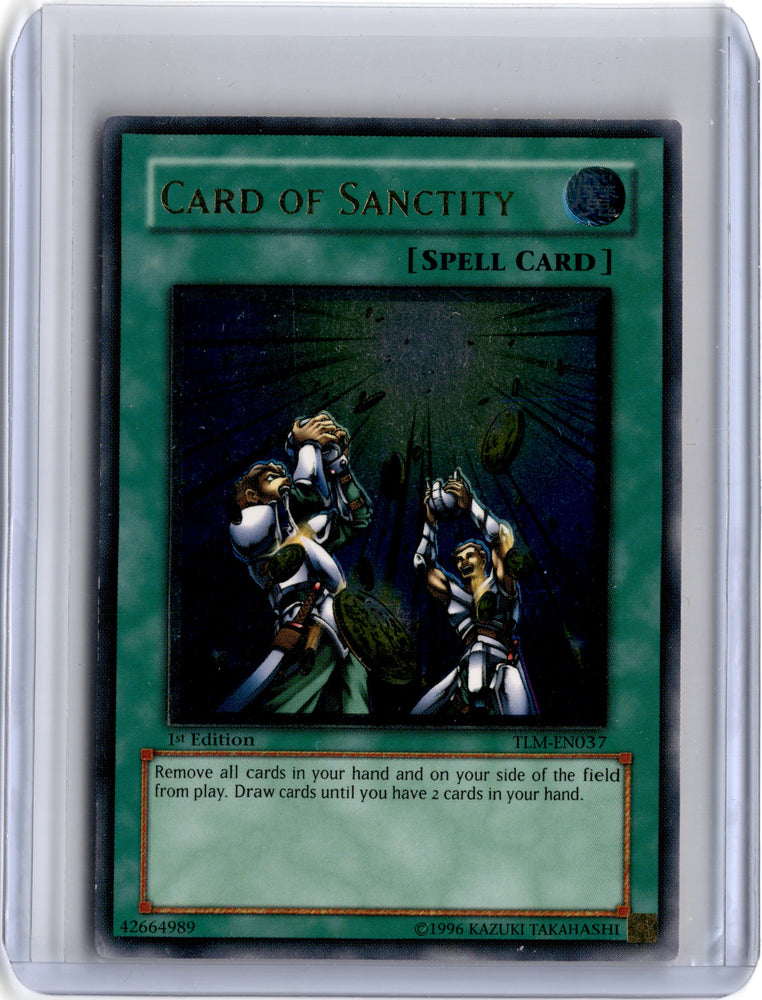 Card of Sanctity - TLM-EN037 - Ultimate Rare 1st Edition-Cherry Collectables