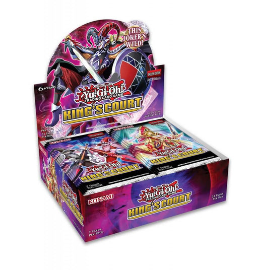 YU-GI-OH! TCG King's Court Booster Box (Pre Order June 24)