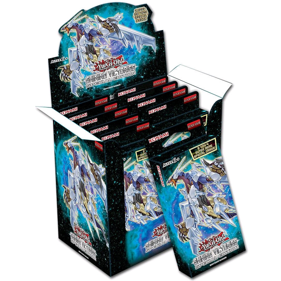 Yu-Gi-Oh! Shining Victories Special Edition Box (Display of 10)-Cherry Collectables
