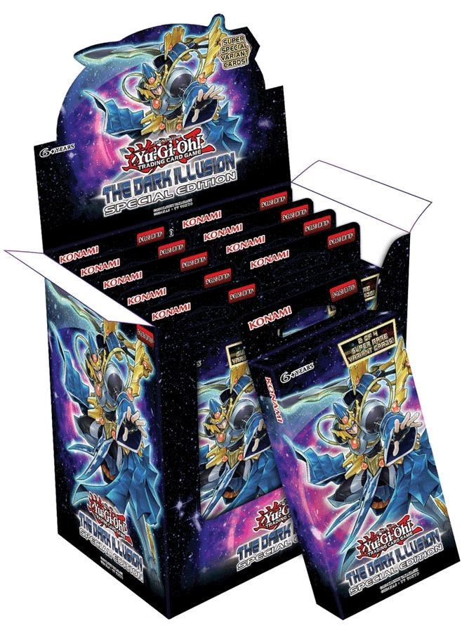 Yu-Gi-Oh! The Dark Illusion Special Edition Box (10 Packs)-Cherry Collectables
