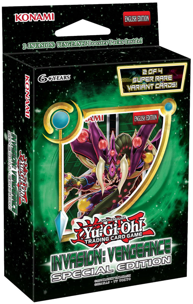 Yu-Gi-Oh! Invasion: Vengeance Special Edition Pack - Cherry Collectables