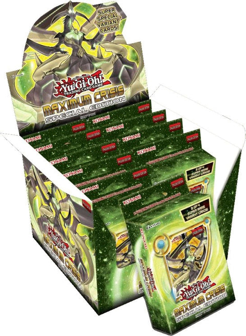 Yu-Gi-Oh! TCG Maximum Crisis Special Edition Box (Display of 10)-Cherry Collectables