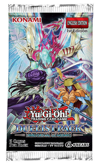 Yu-GI-Oh! TCG Dimensional Guardians Duelist Booster Pack-Cherry Collectables