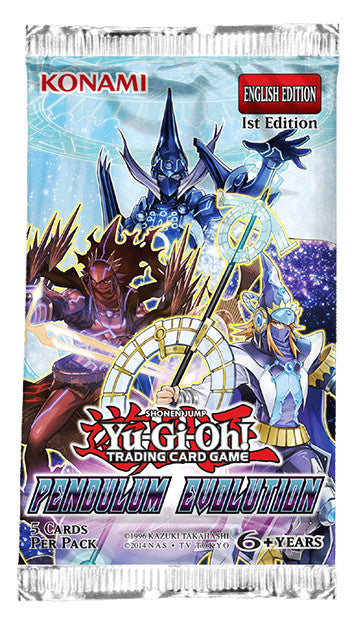 Yu-Gi-Oh! TCG Pendulum Evolution Booster Pack-Cherry Collectables
