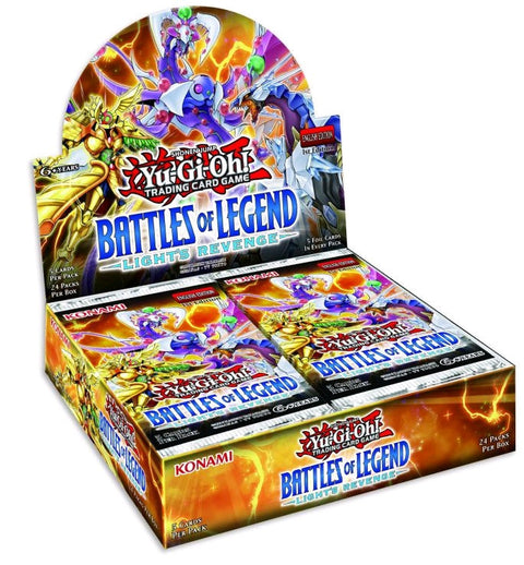 Yu-Gi-Oh! TCG Battles of Legend Light's Revenge Booster Box (Backorder Ships Jul 12)-Cherry Collectables
