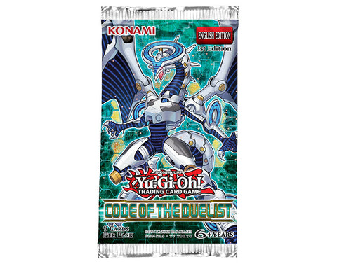 Yu-Gi-Oh! TCG Code Of The Duelist Booster Pack (Pre Order Aug 3)-Cherry Collectables