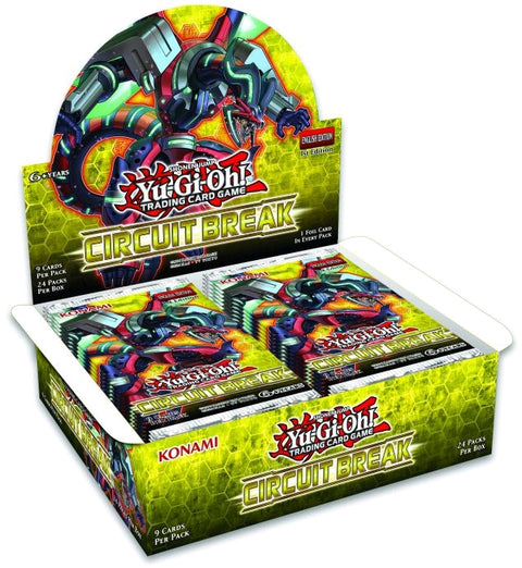 Yu-Gi-Oh! TCG Circuit Break Booster Box (Pre Order Oct 19)-Cherry Collectables