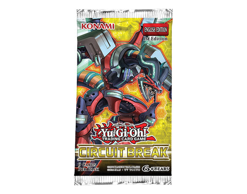 Yu-Gi-Oh! TCG Circuit Break Booster Pack (Pre Order Oct 19)-Cherry Collectables