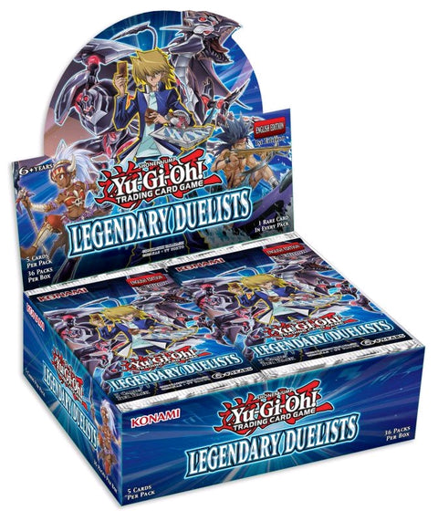 Yu-GI-Oh! TCG Legendary Duelists Booster Box (Pre Order Sep 7)-Cherry Collectables