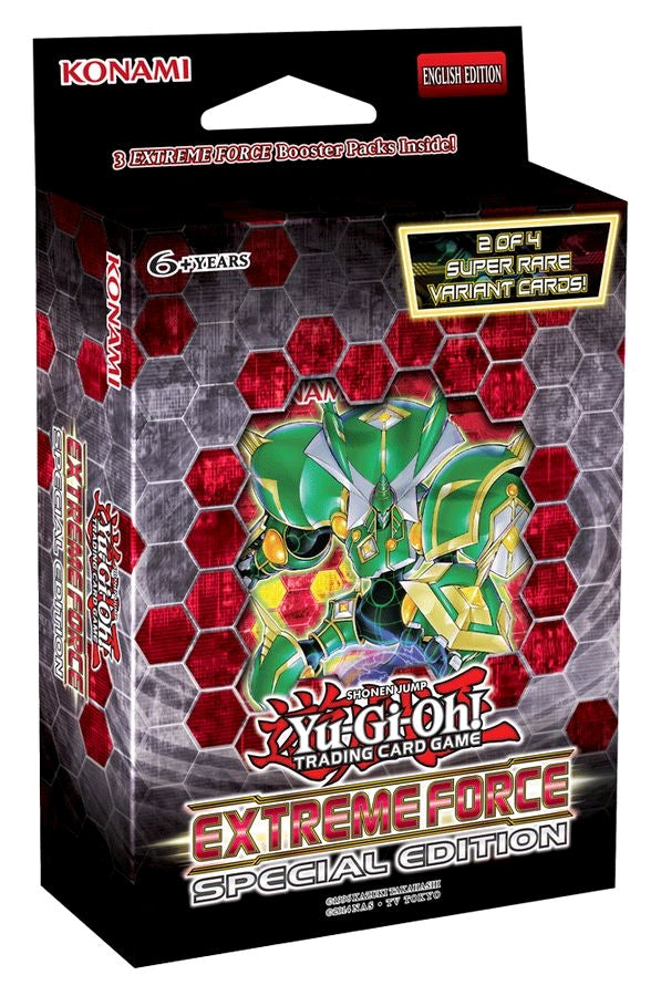 Yu-Gi-Oh! Extreme Force Special Edition Pack (Pre Order Mar 22) – Cherry Collectables
