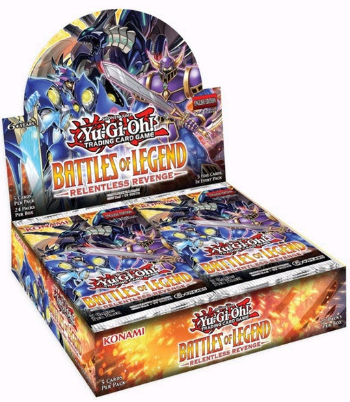 Yu-Gi-Oh! TCG Battles of Legend: Relentless Revenge Booster Box-Cherry Collectables