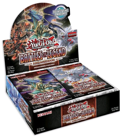 YU-GI-OH! TCG Battles of Legend: Armageddon Booster Box (Pre Order Jul 23)-Cherry Collectables