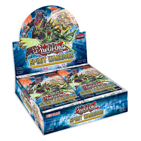 Yu-Gi-Oh! TCG Spirit Warriors Booster Box (Pre Order Nov 17)-Cherry Collectables