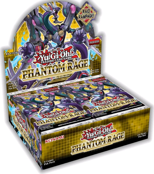 YU-GI-OH! TCG Phantom Rage Booster Box (Pre Order Nov 5)-Cherry Collectables
