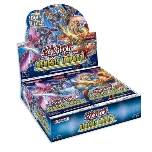 YU-GI-OH! TCG Genesis Impact Booster Box-Cherry Collectables