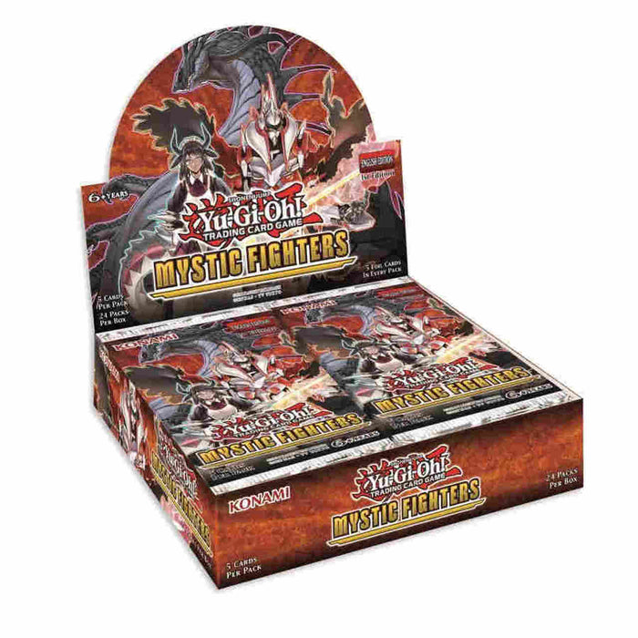 Yu-Gi-Oh! TCG Mystic Fighters Booster Box-Cherry Collectables