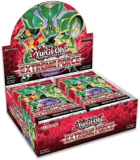 Yu-Gi-Oh! TCG Extreme Force Booster Box-Cherry Collectables