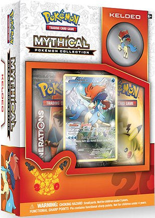 Mythical Pokemon Collection - Keldeo Pin Box - Cherry Collectables