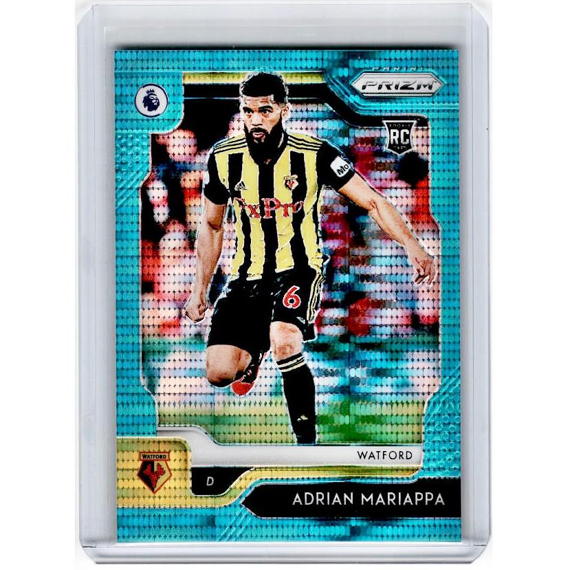 2019-20 Prizm EPL Breakaway Soccer ADRIAN MARIAPPA Rookie Teal Prizm 20/35-Cherry Collectables