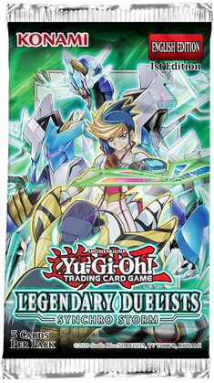 YU-GI-OH! TCG Legendary Duelists 8: Synchro Storm Booster Box (Pre Order Jul 15)