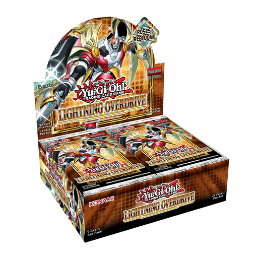 YU-GI-OH! TCG Lightning Overdrive Booster Box (Pre Order May 13)-Cherry Collectables